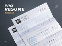 Resume for Pros