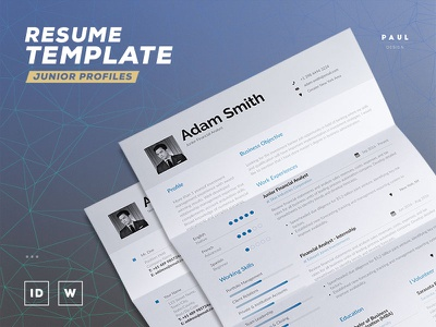 Resume / Cv Template resume inspiration resumecreator curriculum vitae lebenslauf cv resume
