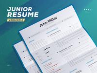 Junior Resume/Cv Template