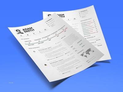 Infographic Resume/Cv Volume 9 professional job curriculum vitae inspiration template lebensauf cv resume infographic