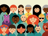 Feminist Inclusive Illustration