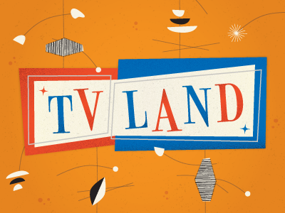50s tv show inspired event logo by sara bang dribbble dribbble