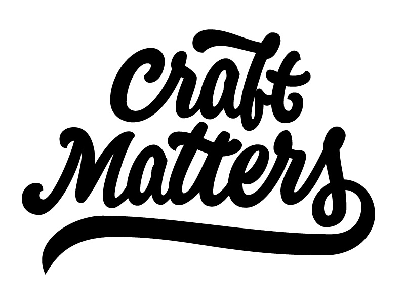 Craft Matters craft matters lettering craft