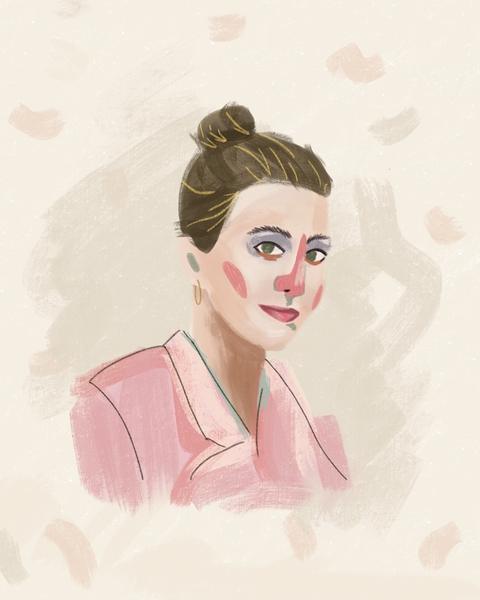 Kacie portrait illustration