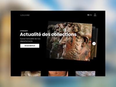 Musée du Louvre - Home concept