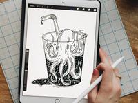 Octopus Drink