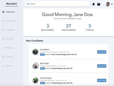 Recruit.io - Candidates & Filtering (Part 2)