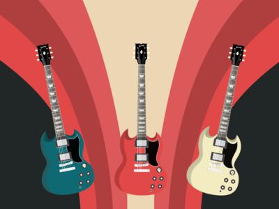 Gibson sg vector