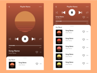 UI/UX Challenge: Mobile Music Player Concept