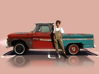 Christin titled Chris.J with 1965 Chevrolet Pickup