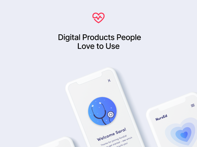NursEd software digital digital product ui ux mobile app website design web design design website