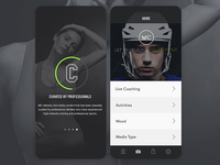 Sports Application UI + UX