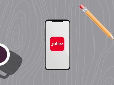 Jahez Project in behance be.net/abderrrazzaq typography ux vector branding ui logo illustration