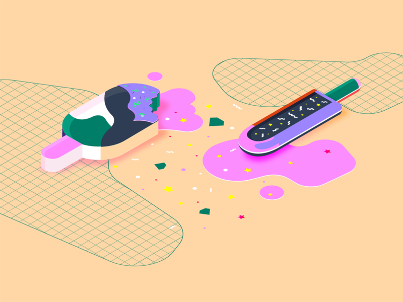 Design Islands - Isometric illustration