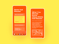 Medical Library typogaphy youth medical app ui color millennial