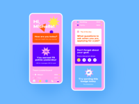 Care Buddy - Home ui youthful medical app medical colorful