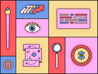 The Benefits of Having a Designated Team team illustration color