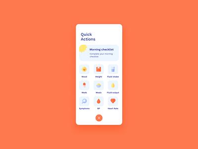 Cormeum mobile app ui design medical app medical