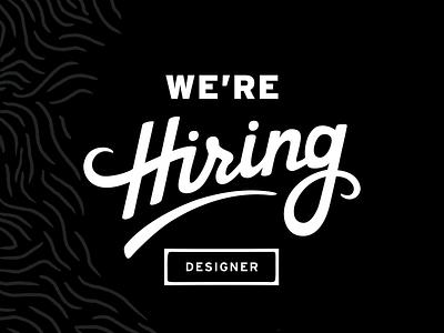 We're Hiring seattle jobs job listing job hiring