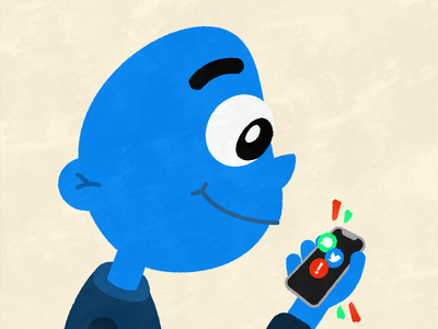 Stay Alert :) social media instagram graphic design youtube animation vector design illustrator coronavirus illustration after effects affinity designer blue