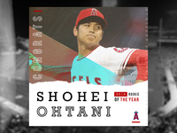 Los Angeles Angles - Social Mockup - 'Rookie of the Year'