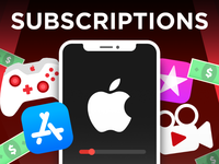 YouTube Thumbnail - Apple Subscriptions