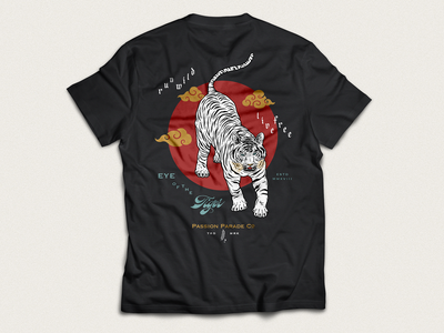 Run Wild, Live Free ✶ T-Shirt tshirt design illustrative lettering tattoo art tattoo design streetwear fashion apparel design apparel graphics apparel brand tiger illustration art singapore lettering art lettering artist design handlettering calligraphy illustration typography lettering