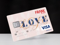 Credit Card Design | BRAVE BY FRANK OCBC X MOX BY INVADE
