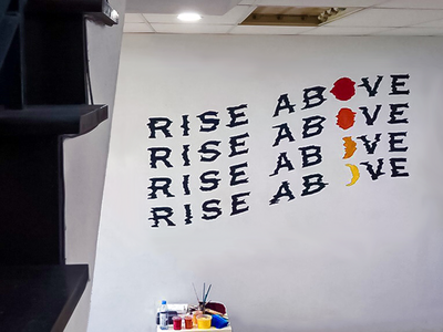 Rise Above Mural