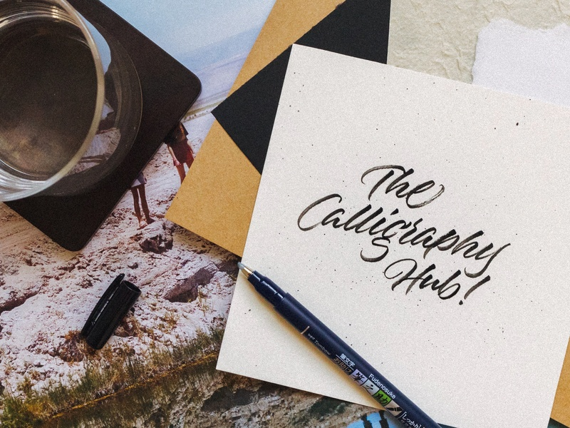 The Calligraphy Hub's Artist Interview Series calligraphy and lettering artist type art graphics art artist handlettering lettering design type typography calligrapher calligraphy brushlettering brush calligraphy