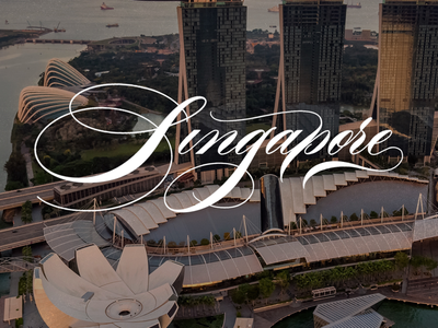 Singapore - Calligraphy x Photo
