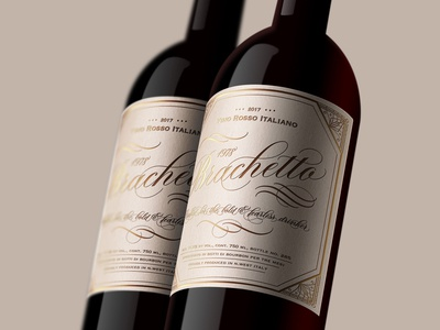 Wine Packaging Label Design