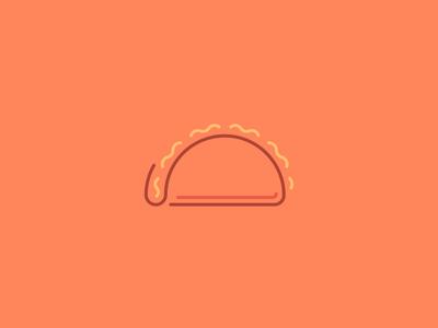 Taco Icon/Line Art