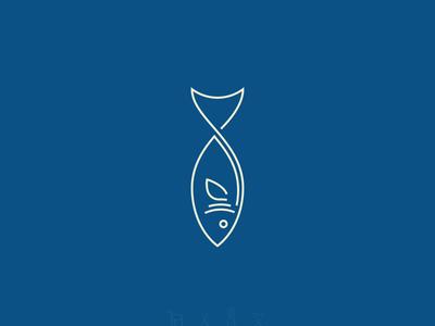 Fish Icon/Line Art