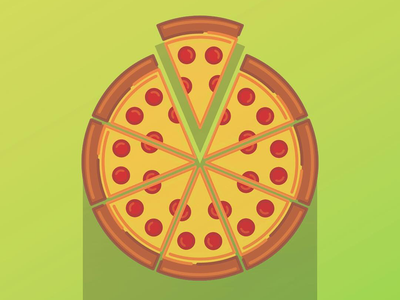 Pizza Line Art iconography icon design icon food illustration graphic line art pizza