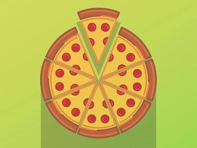 Pizza Line Art