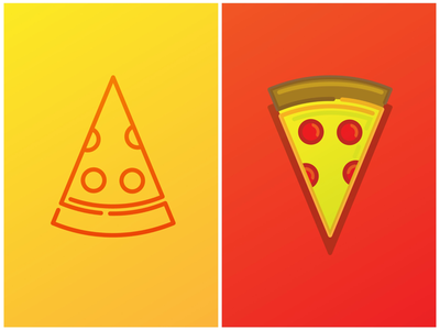 Pizza Icon food pizza houston line art icon design iconography icon