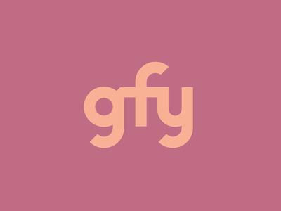 """""""gfy"""" text treatment"""