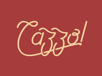 Cazzo design htx logo typedesign type illustration lettering graphic design typography houston