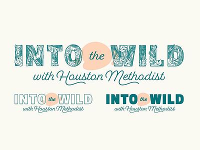 Into the Wild pt.2 texas houston zoo typographic typography type design graphic design zoo houston