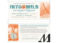 Into the Wild Invitation