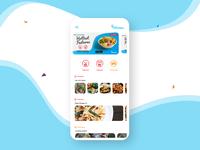 Mobile App Home Screen
