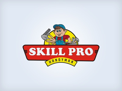Skill Pro Handyman Logo serviceslogo logodesigns logo alphabet logodesigner logodesign logo branding