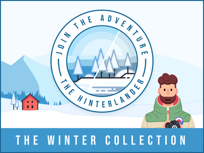 The Winter Collection - Lightroom Presets icon branding flat beard character design explorer adventure lightroom preset lightrom presets lightroom mobile illustration minimal vector jungle logo photography character filter instagram
