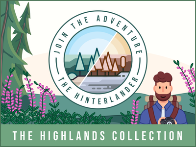 The Highlands Collection - Lightroom Presets instagram filter character photography logo jungle vector minimal illustration lightroom mobile presets lightrom lightroom preset adventure explorer character design beard flat branding icon