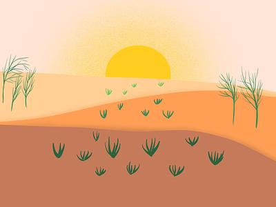 desert desert nature design nature landscape illustration landscape design landscape drawing digital drawing digital illustration art digital art illustration artist illustration