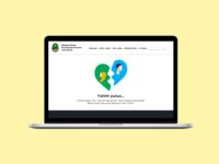 Error Page Design for Jawa Barat Province Website