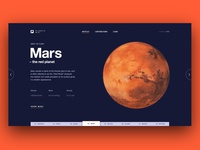 Planet wiki concept - Mars