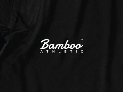 Bamboo Athletic Logo company logo apparel design brand identity athletic bamboo logo logo vector typography typedesign modernism innovative graphic design creative branding adobe illustrator