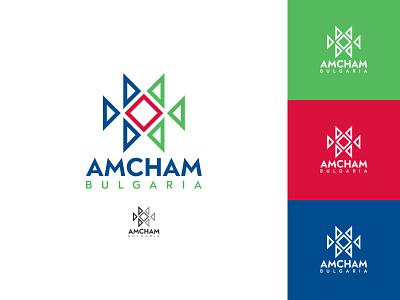 AmCham Logo Concept folklore folkloresymbol logo concept concept logo design graphics design logotype symbol logo
